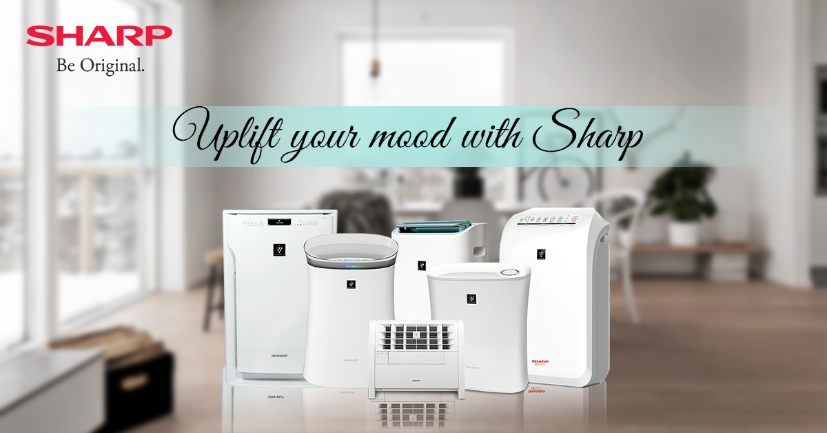 Gift yourself a Sharp Air purifier with an effective