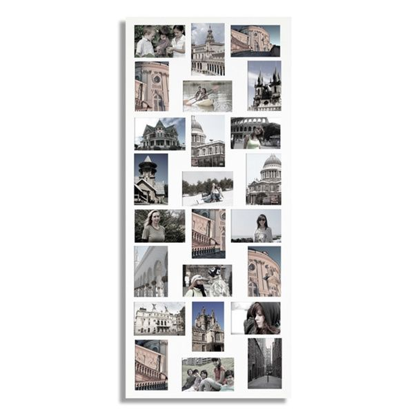 White 24-opening Collage Picture Frame - Overstock Shopping - Great ...