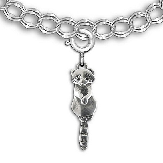 The Magic Zoo Sterling Silver Pig Charm for charm bracelet