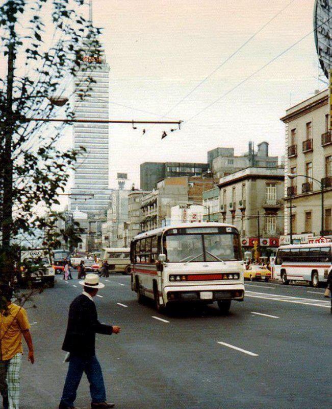 50 fotos hist ricas de la ciudad de m xico e transportes - Los anos cincuenta ...