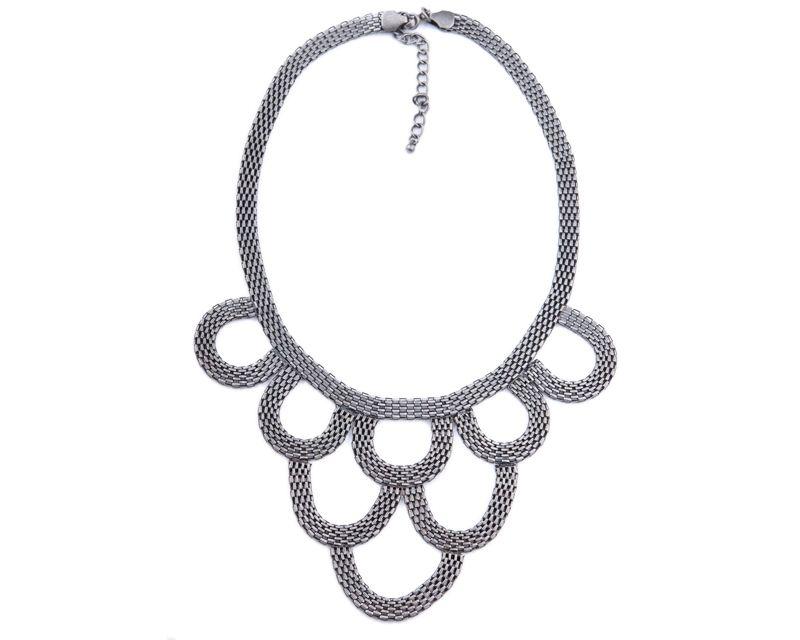 Water Fall Kolye | Modapik farklı tarz metal necklace 39 TL