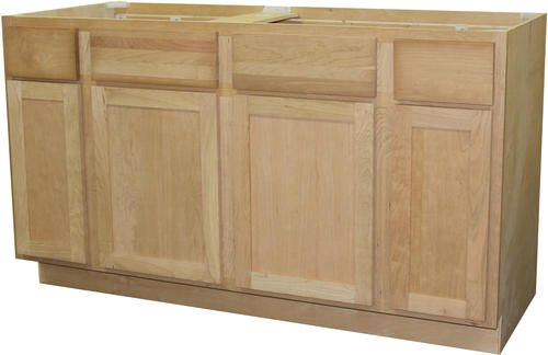 Best Quality One™ 60 X 34 1 2 Unfinished Cherry Sink 400 x 300