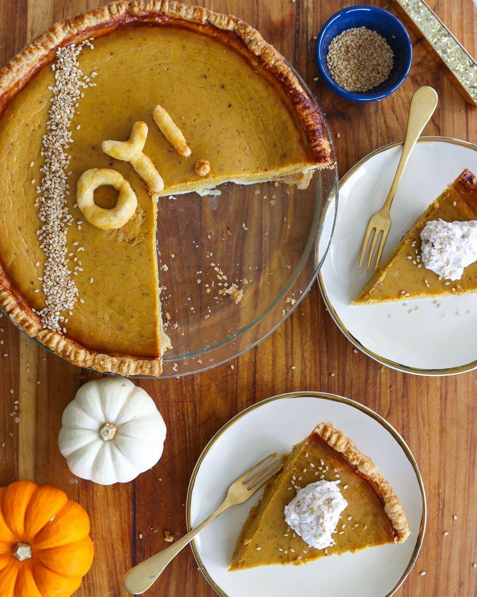 Tahini Hawaij Pumpkin Pie What Jew Wanna Eat Pumpkin