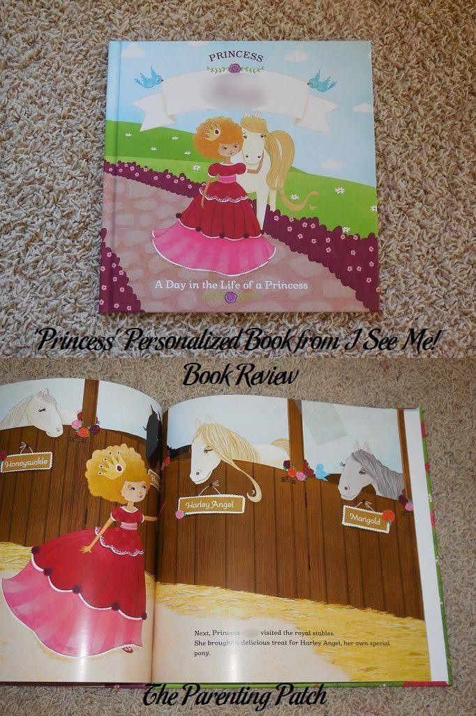 'Princess' Personalized Book from I See Me! Book Review and Giveaway