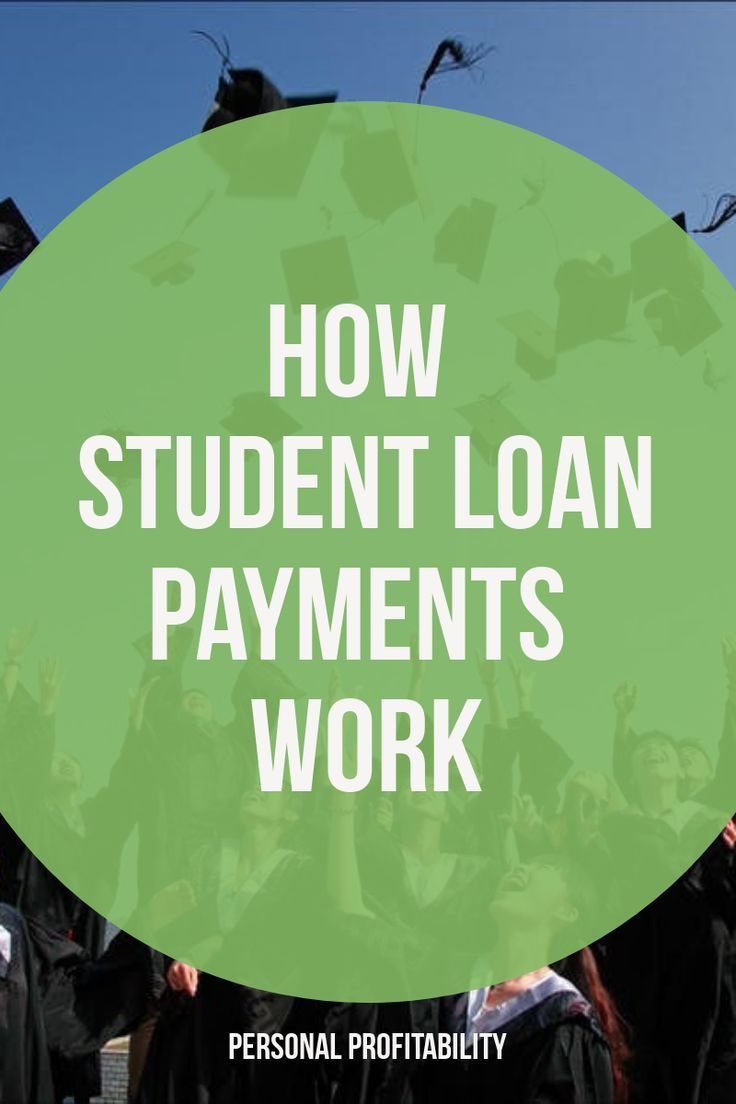 How Student Loan Payments Work Student loan payment