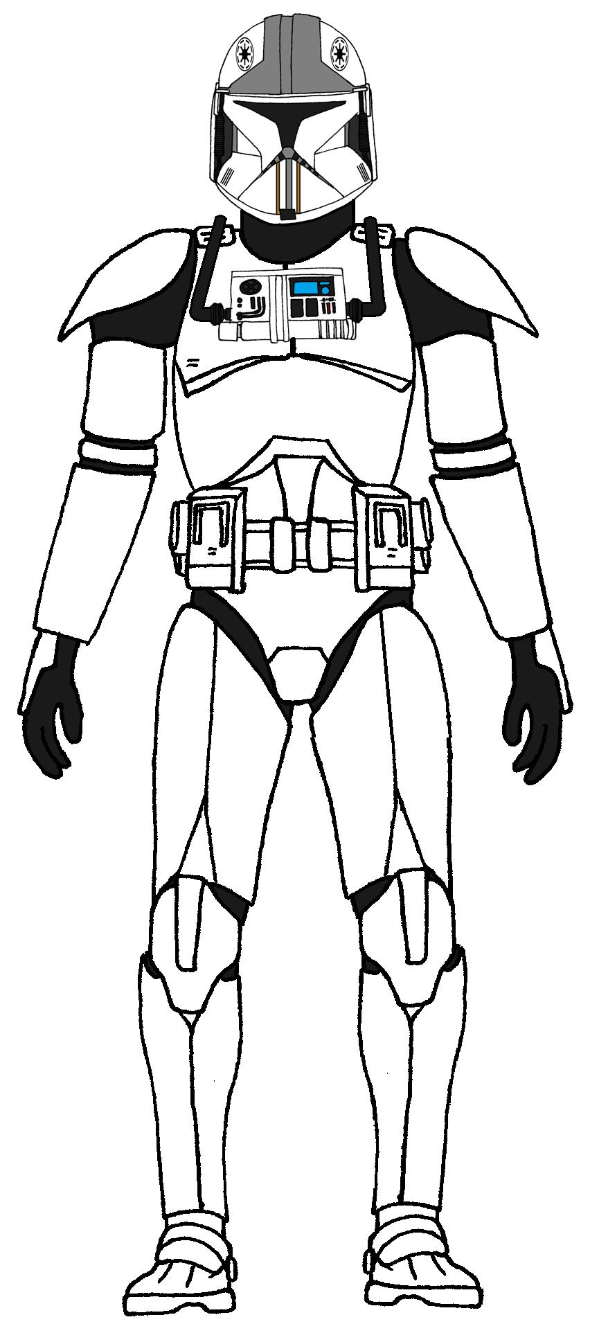 Clone Army Pilot Phase 1 Star Wars Clone Wars Star Wars Trooper Star Wars Drawings