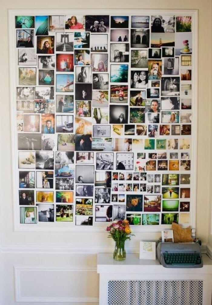 Beaucoup D Idees Avec Un Cadre Photo Multivues Et Un Cadre Photo Pele Mele Archzine Fr Idee Deco Photo Cadre Photo Multivues Et Mur Photo