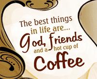 God, Friends & Coffee