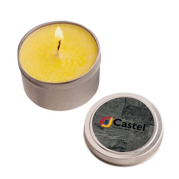 2 oz. Eco Friendly Soy Candle In Round Tin