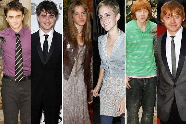 Harry Potter Stars Then And Now Stars Then And Now Harry Potter Universal Pottermore