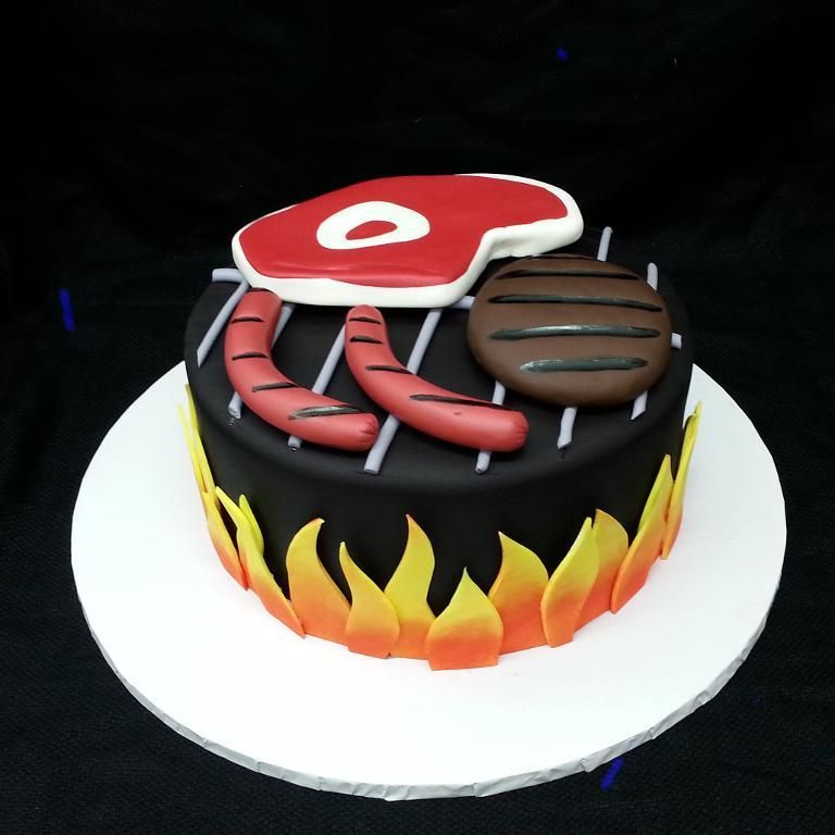 Bbq Grill Cake By Craftsy Member Calfon8372167263 Cake