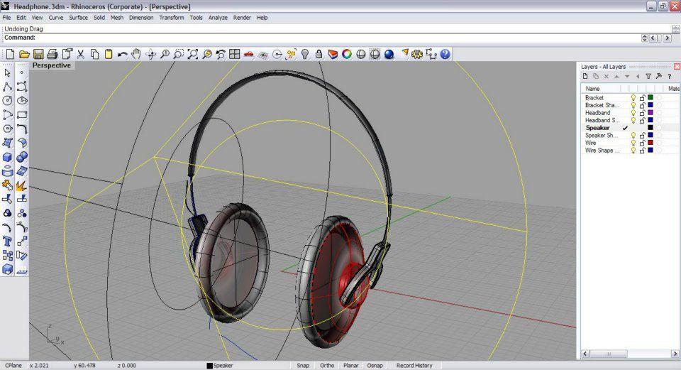 Fone (Software – Rhinoceros) | Rhino | Best 3d software, 3d
