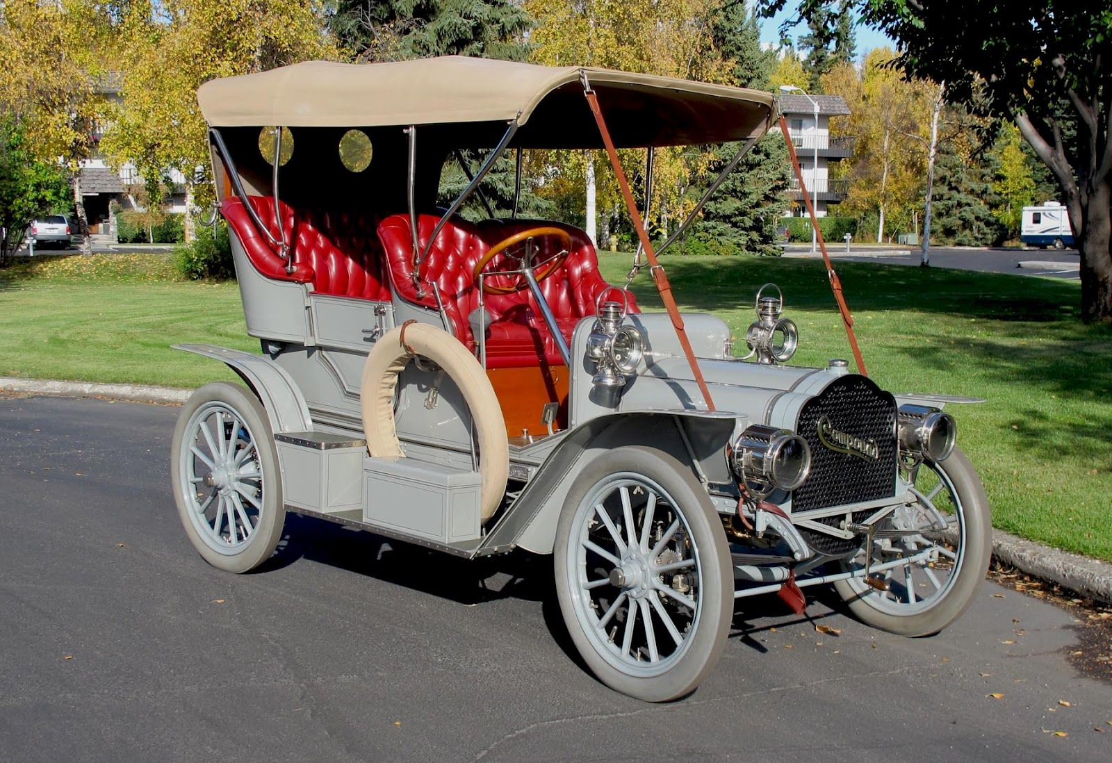 1906 Compound Touring Car...3 Cylinder engine Reposted by ...