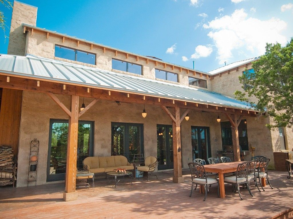 Austin Vacation Estate Rental Beautiful Veranda Patio