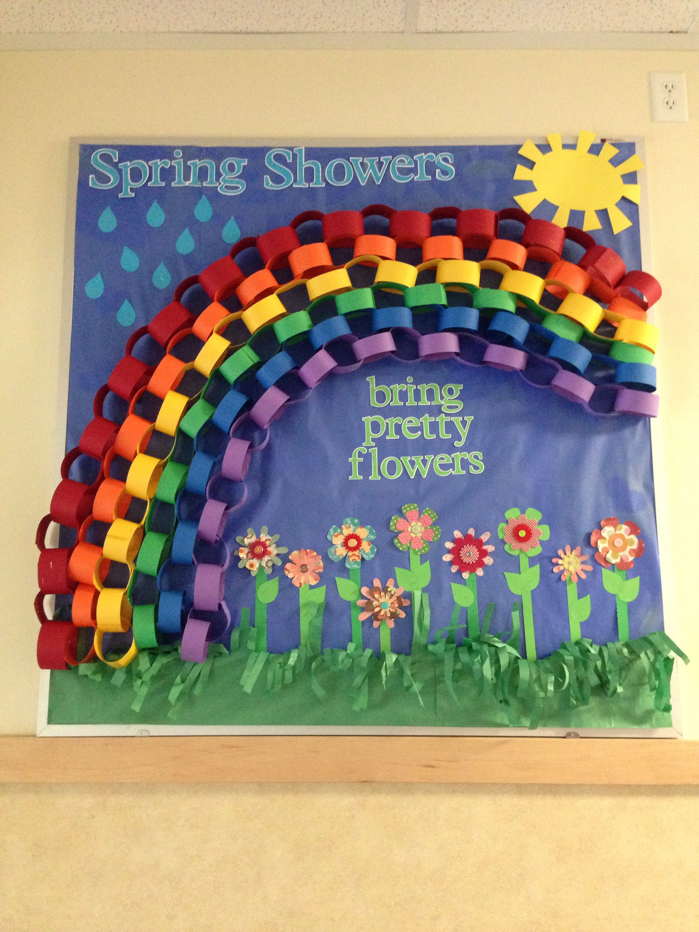Spring Bulletin Board Tanya Price Preschool Bulletin Spring