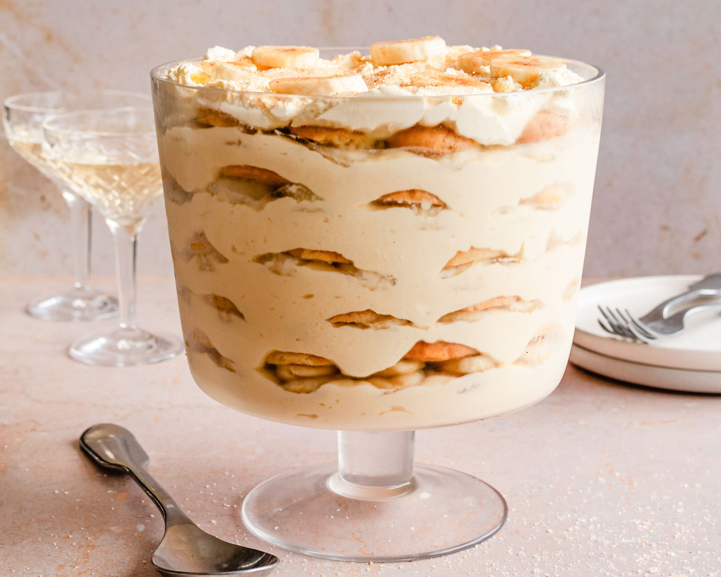 Easy Rich No Cook Banana Pudding With Vanilla Wafers Recipe In 2020 Banana Pudding No Cook Desserts Reception Desserts