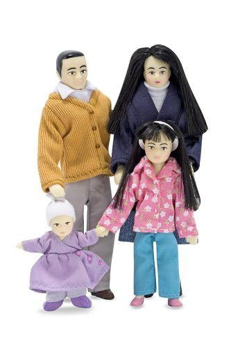 Melissa Doug Victorian Doll Family Asian Products