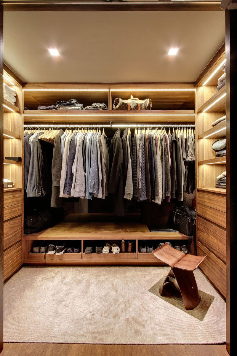 15 Examples Of Walk In Closets To Inspire Your Next Room Make Over I Walk In Robes