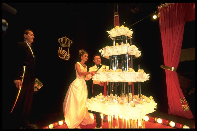 King Abdullah and Queen Rania - wedding cake number two