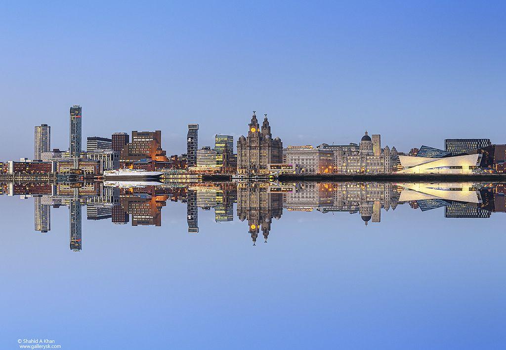 Liverpool Skyline Liverpool Skyline City Skyline Liverpool City