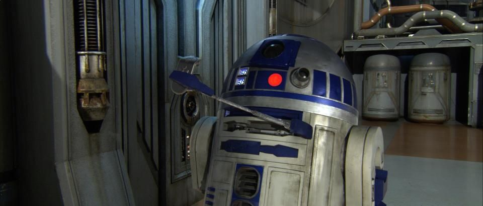 R2d2!! Personally, he is  amazing