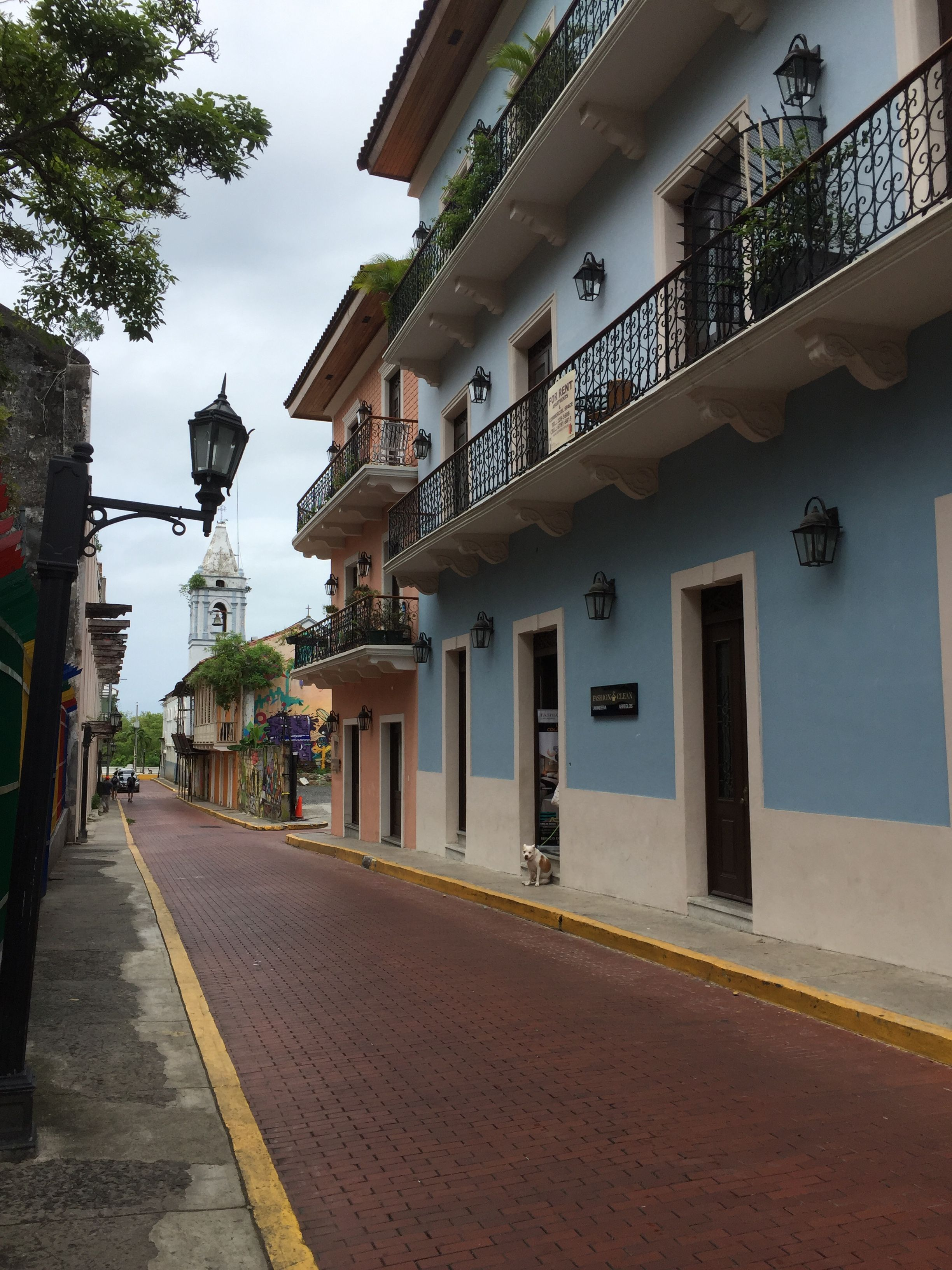 Historic district - Panama city