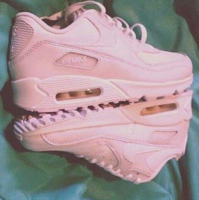 Pastel Pink Nike Air Max Sneakers Pinterest Pink