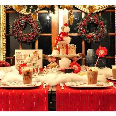 Welcome Back Elf Breakfast {Christmas Traditions} what a cute idea!!