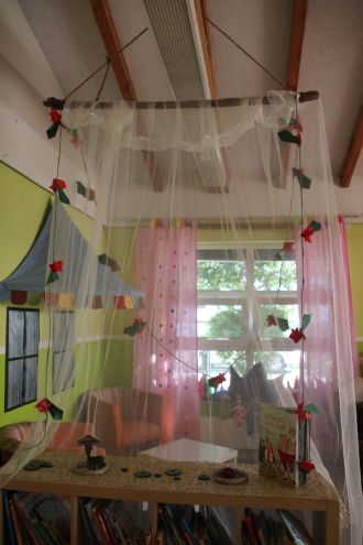 Raumgestaltung zum Thema Märchen #kitaräume