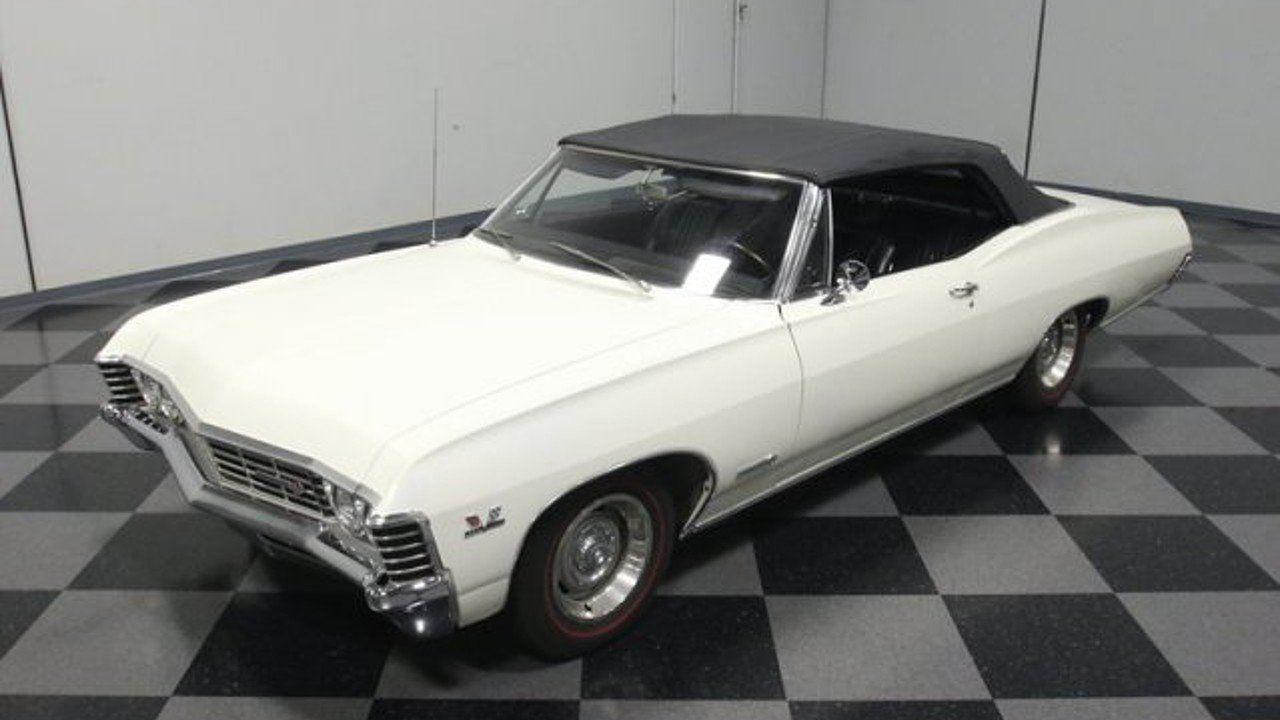 1967 Chevrolet Impala For Sale Near Lithia Springs Georgia 30122