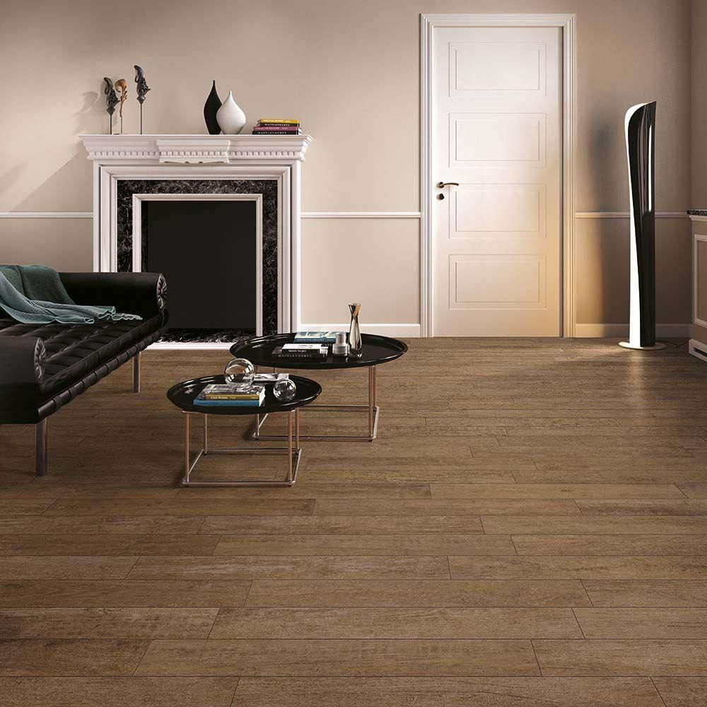 Corso Italia Selva Tobacco 6 In X 36 In Porcelain Floor And Wall Tile 13 08 Sq Ft Case Aw6w The Home Depot Porcelain Flooring Floor And Wall Tile Flooring