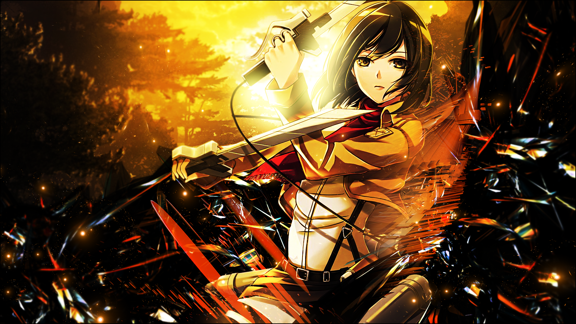 View download comment and rate this 1920x1080 mikasa ackerman mikasa ackerman full hd wallpaper and background voltagebd Images