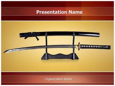 Japanese samurai sword powerpoint template is one of the best japanese samurai sword powerpoint template is one of the best powerpoint templates by editabletemplates toneelgroepblik Gallery