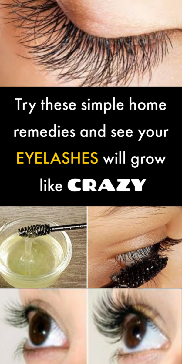 Top 5 Home Remedies to Get Beautiful Long Eyelashes #beauty