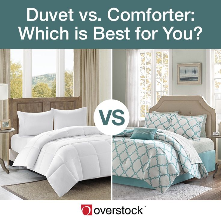 Difference Between Duvet Vs Comforter