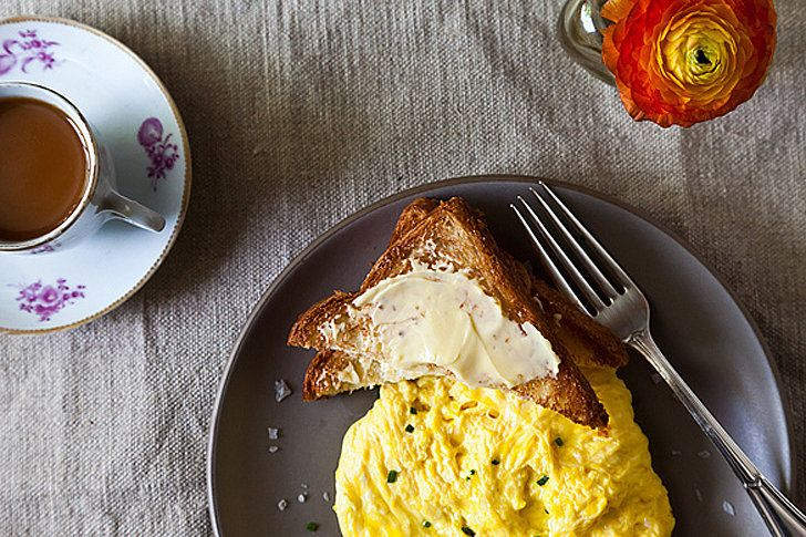 Day 9 (Weekday): Poached Scrambled Eggs With Toast