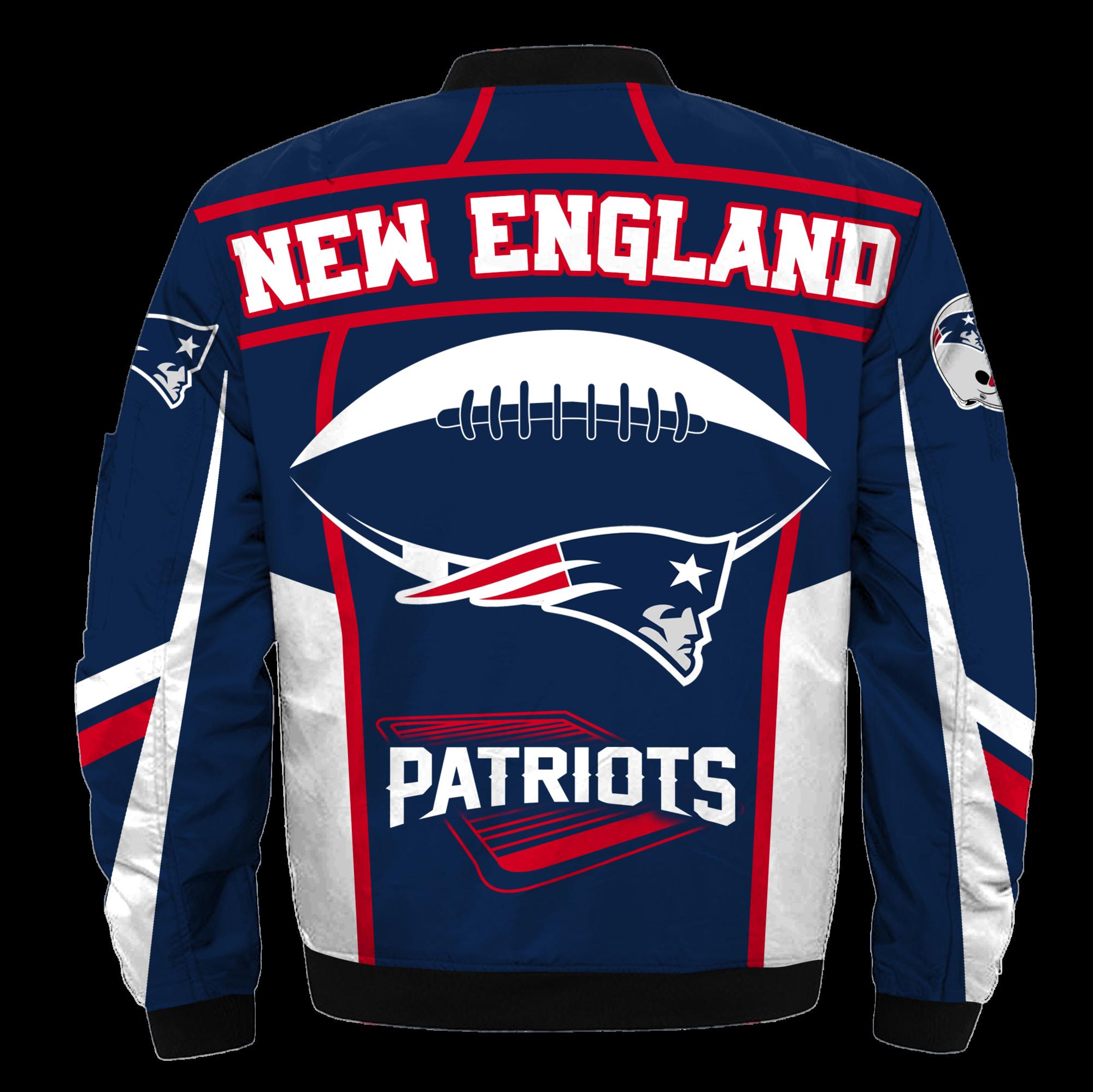 New England Patriots Bomber Jacket Nfl New England Patriots Apparel New England Patriots Apparel New England Patriots Merchandise New England Patriots
