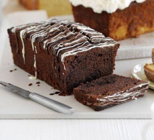 Double chocolate loaf cake | Recipe | Chocolate loaf cake ...
