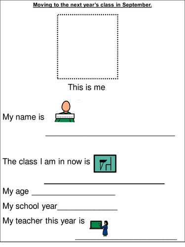 Transition to the next primary class workbook | Primary: Teaching