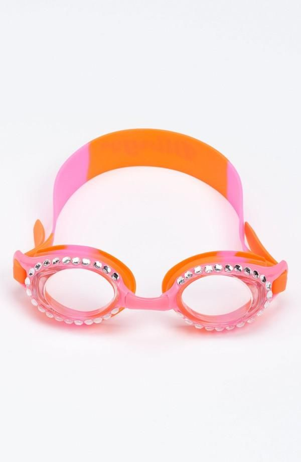 5c8bf68cf235 Take a swim with sparkles! Bling2o Swim Goggles (Girls) | Kids ...