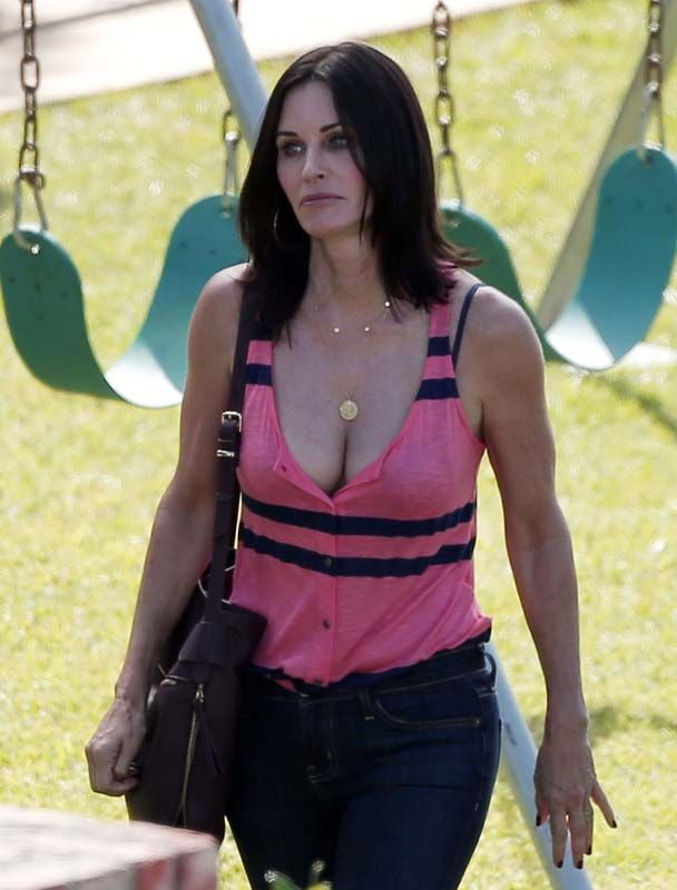 That Courtney cox hot are