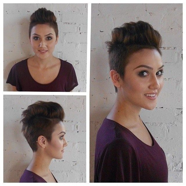 Hanenkammen Uit De Mode Mooi Niet Hippe Hanenkammen En Vergelijkbare Kapsels Short Hair Styles Undercut Long Hair Hair Styles