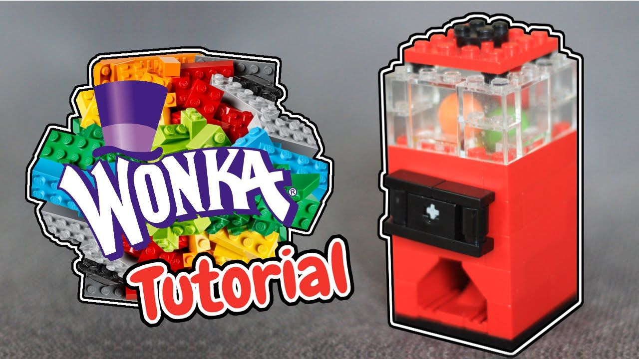 How To Build A Mini Lego Gumball Machine Gobstopper Lego