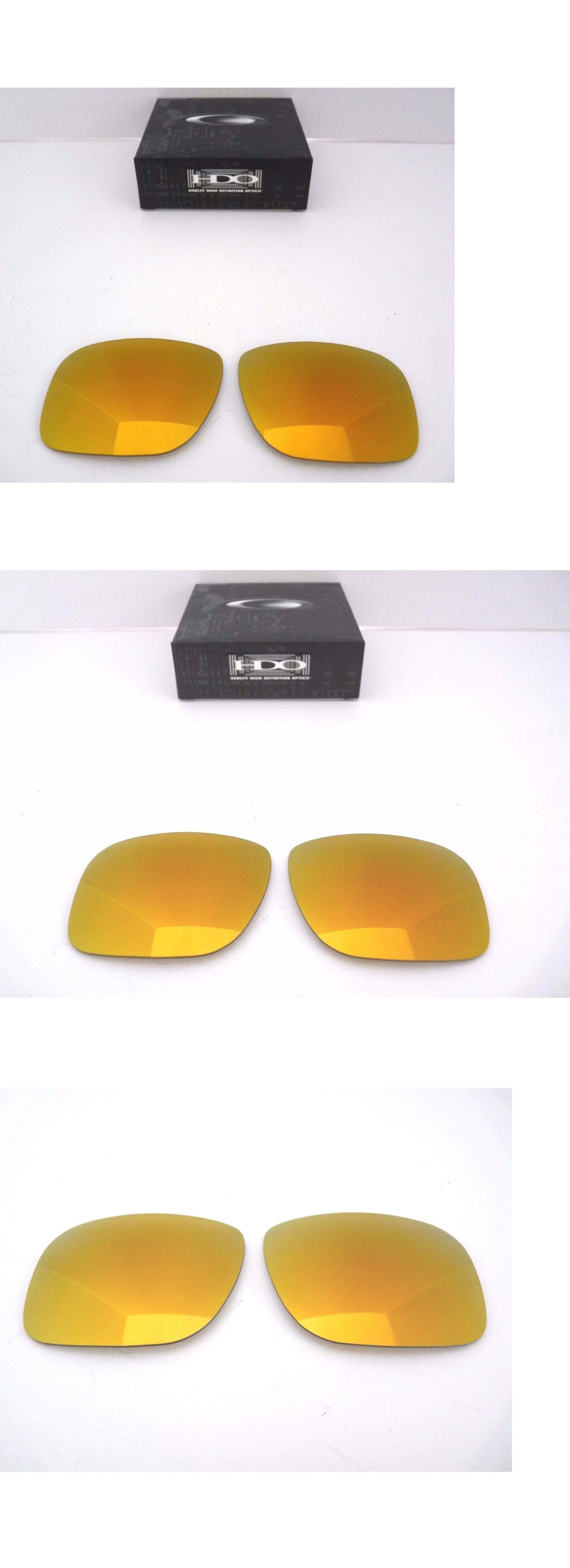 8ea345db2a Sunglass Lens Replacements 179194  New Oakley Holbrook Replacement Lens 24K  Gold Iridium 43-350