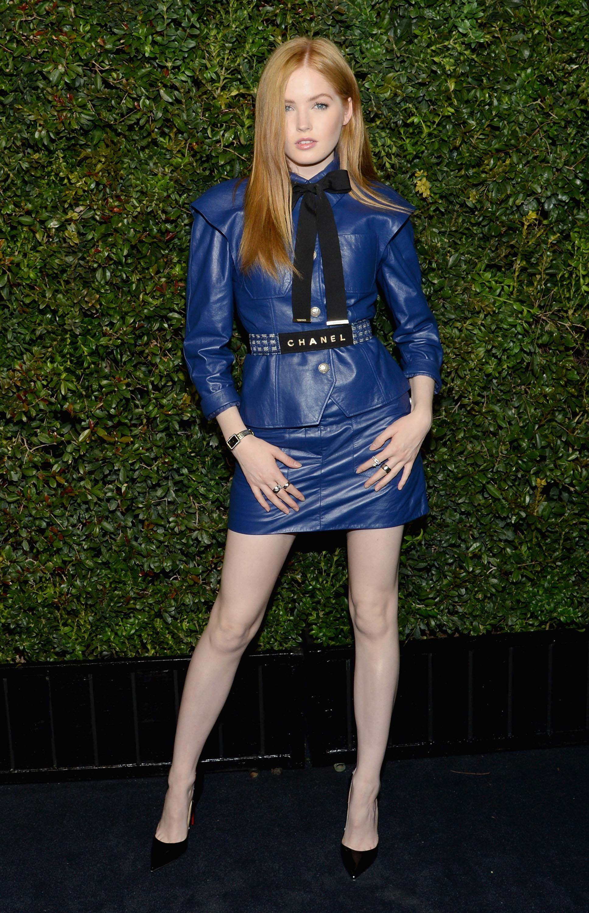 e4e5d19646c Ellie Bamber attends the Charles Finch and CHANEL Pre-Oscar Awards Dinner