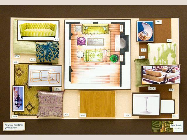 austin interior design - Student work, Student and Interior design on Pinterest