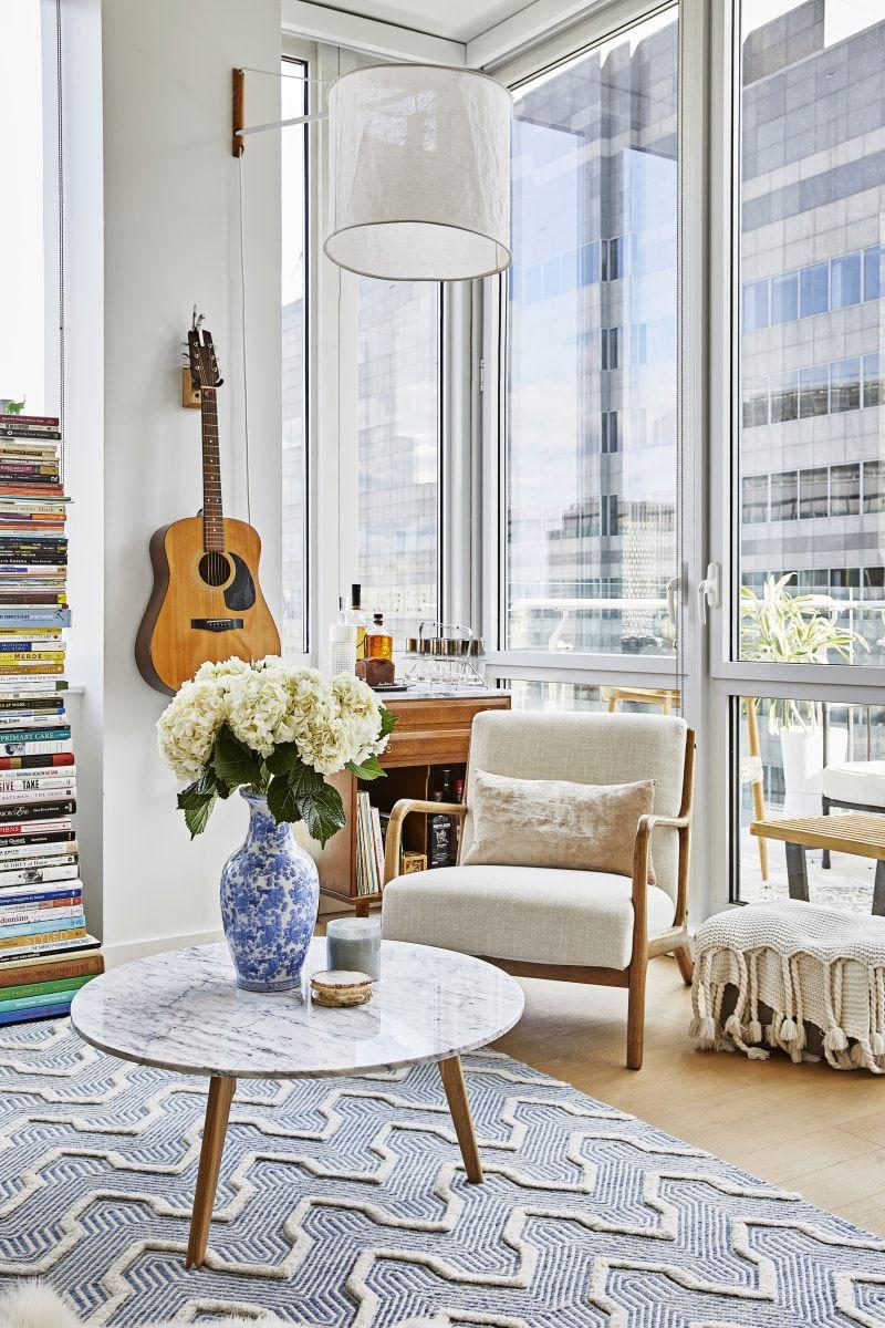 Megan Hopp Modern New York Apartment Home Tour | Rugs for ...