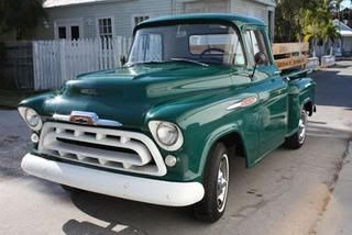 The Original Color Of My 57 Chevy Pickup Truck Chevy Pickups