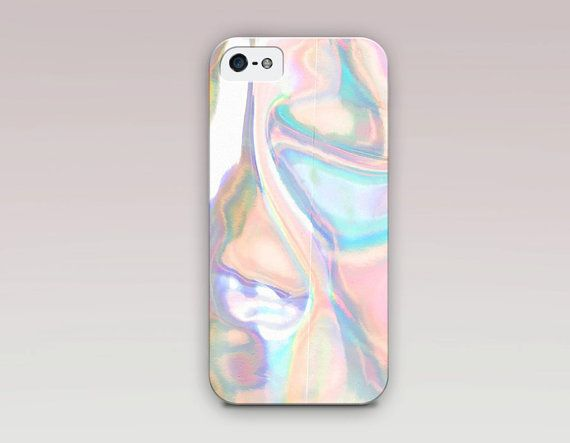 Holographic Printed Phone Case For  iPhone by ShopCatchingRainbows