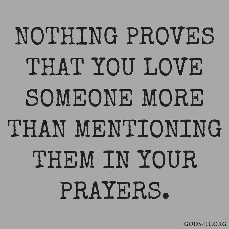 Mention Your Loved Ones In Your Prayer | prayers | Bible